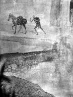 231371 Bestand-D-DAI-ROM-W.1194.jpg VI.7.23 Pompeii. W.1194. Wall painting of man and horse, from south wall of bedroom. Photo by Tatiana Warscher. Photo © Deutsches Archäologisches Institut, Abteilung Rom, Arkiv. See http://arachne.uni-koeln.de/item/marbilderbestand/231371