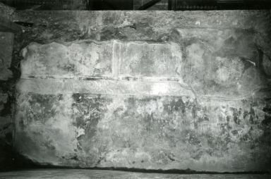 I.10.4 Pompeii. 1972. House of Menander, room under triclinium, N wall.  Photo courtesy of Anne Laidlaw. American Academy in Rome, Photographic Archive. Laidlaw collection _P_72_7_36.