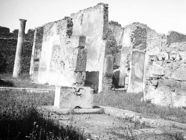 VI.7.20 Pompeii. W.1225. Looking north-west across impluvium in atrium.  Photo by Tatiana Warscher. Photo © Deutsches Archäologisches Institut, Abteilung Rom, Arkiv.