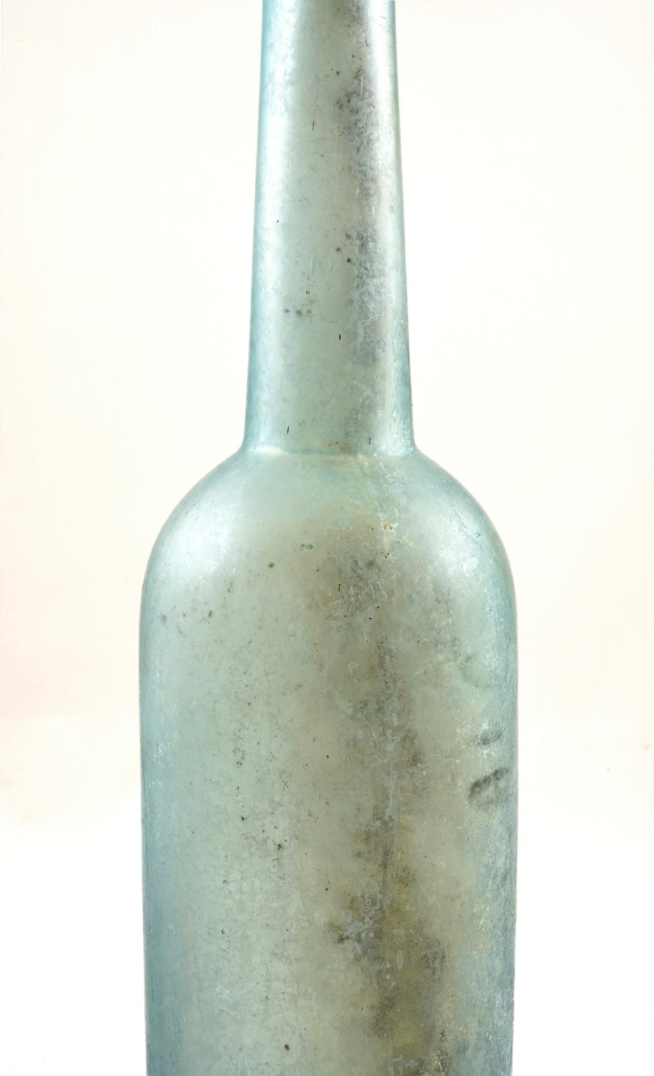 Light blue-green bottle